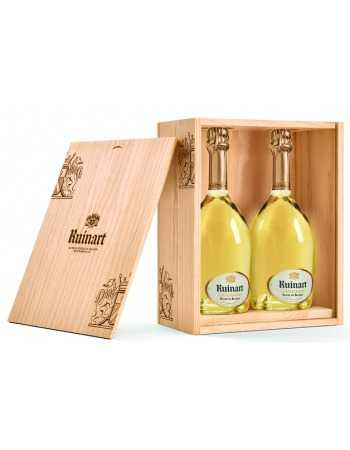 Ruinart WOODEN BOX DUO BOTTLES Blanc de blancs - 2 x 75 cl CHF 179,00 Ruinart