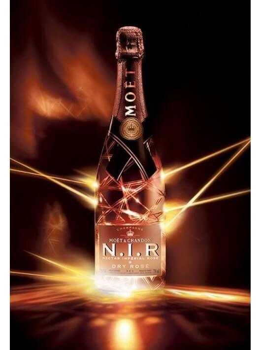 Moët & Chandon N.I.R Nectar Impérial rosé Limited edition CHF79,00 Moët & Chandon