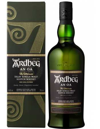 Whisky Ardbeg AN OA ISLAY SINGLE MALT - 46.6% - 70 CL CHF 65,00  Whisky Ardberg