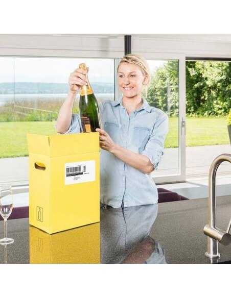Misterchampagne.ch Packaging & Delivery by SWISSPOST VINOLOG - 2 open Days CHF20,00 Home