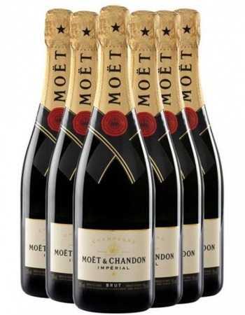 Moët & Chandon Giftbox brut Impérial - 6 x 75 Cl CHF258,00 Promotions
