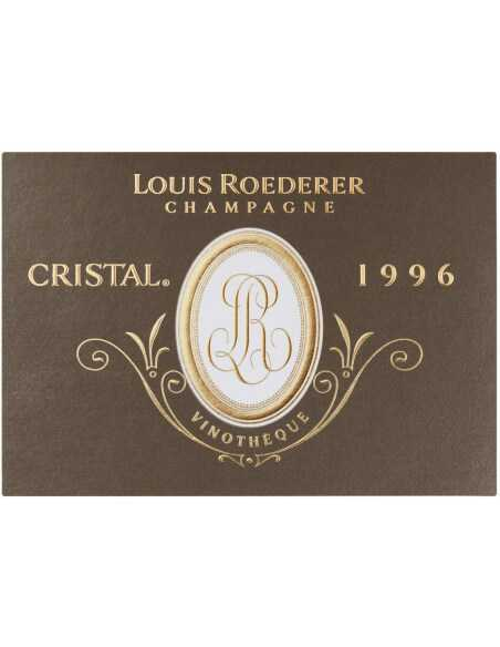 Cristal Louis Roederer Vinothèque 1996 Blanc CHF1349,00  Cristal Louis Roederer