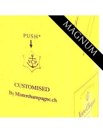Veuve Clicquot Yellow label brut & Gravure personnel du GIFTBOX - 150 CL CHF134,00  PERSONNALISATION
