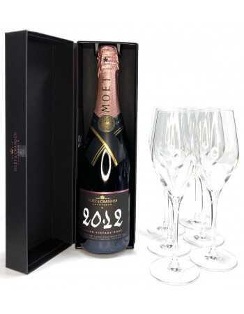 Moët & Chandon Package Ice Bucket + 6 Elegants Glasses + Grand Vintage 2012 rosé - 75 CL CHF155,00 Moët & Chandon