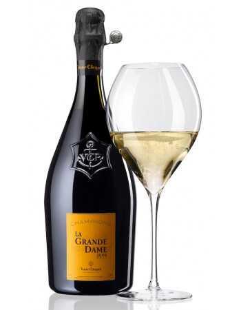 Veuve Clicquot PACKAGE 2 GLASSES PRESTIGE & VINTAGE 2008 Brut LA GRANDE DAME - 75 CL CHF219,00 Veuve Clicquot