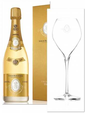 Cristal Louis Roederer Package 2 Glasses & 1 Giftbox Vintage 2008 blanc - 75 CL CHF 255,00 Cristal Louis Roederer