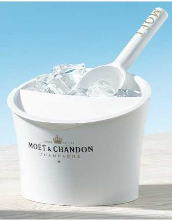 Moët & Chandon White Acrylics 1 Ice bucket & 1 Ice scoop CHF60,00 Champagne On Ice