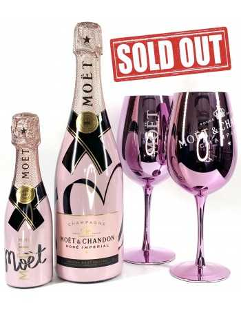 Moët & Chandon Package Impérial Rosé Limited Edition 75 CL + 20 CL + 2 Ceramics Glasses CHF 121,40 product_reduction_percent ...