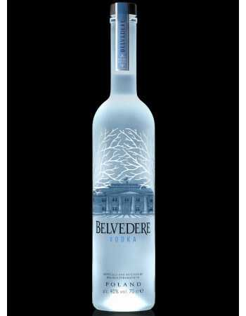 "Vodka Belvedere PURE ""LED"" ILLUMINATOR - 40% CHF149,00 Vodka Belvedere"