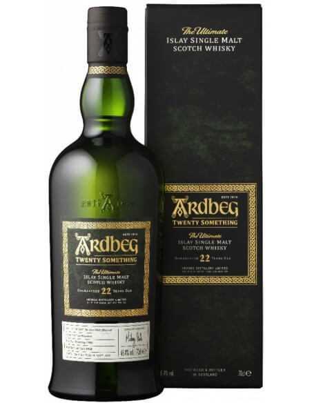 Whisky Ardbeg 22 YEARS OLD ISLAY SINGLE MALT - 46.4% - 70 CL CHF599,00  Whisky Ardberg