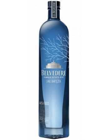 Vodka Belvedere Single Estate Rye Lake Bartezek - 40% - 70 CL CHF59,00  Vodka Belvedere