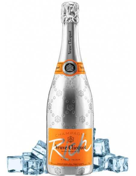 Veuve Clicquot Set: 2 neutral cocktail glasses 75 CL + 1 Rich Ice - 75 CL CHF90,00 Promotions