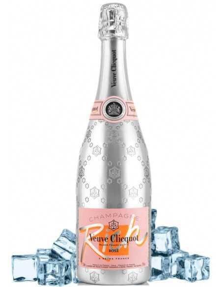 Veuve Clicquot Package 2 Cocktail Glasses + 1 Rich Ice Rosé - 75 CL CHF99,00 product_reduction_percent Veuve Clicquot