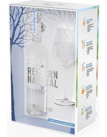 Vodka Belvedere PURE & 1 Glasse LIMITED EDITION - 40% - 70 CL CHF69,00 Luxury Spirits