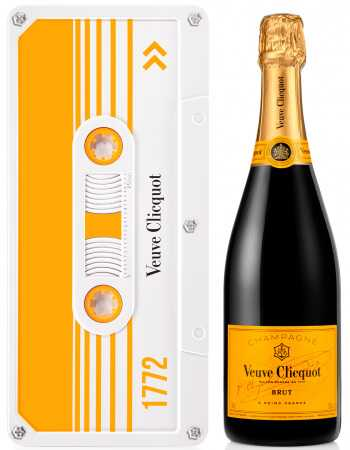 Veuve Clicquot Yellow Retro Chic Tape Limited Edition - 75 CL CHF 59,00  Veuve Clicquot