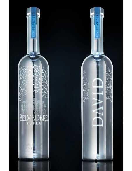 """Vodka Belvedere MAGNUM """"LED"""" BESPOKE SILVER & Gravure personnel - 40% - 175 CL CHF189,00  Vodka Belvedere"""