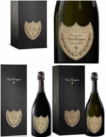 Dom Pérignon 6 Glasses & Trilogy Giftbox Vintage 2008, 2009, 2010 - 3 x 75 CL CHF637,00 Dom Pérignon