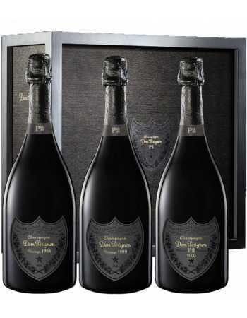 Dom Pérignon P2 Trilogy Limited Edition vintage 1998, 1999, 2000 - 3 x 75 CL 1,499.00 Blanc