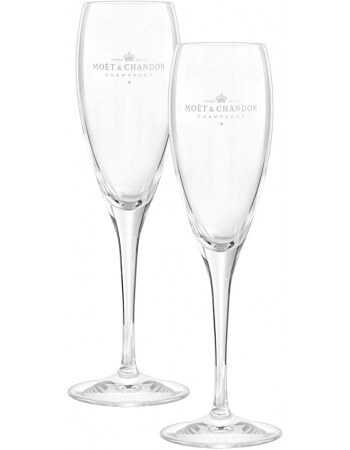 Moët & Chandon 2 glasses for champagne CHF20,00 Home