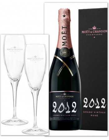 Moët & Chandon Package 2 Glasses & Grand Vintage Rosé 2012 - 75 cl CHF95,00 Moët & Chandon