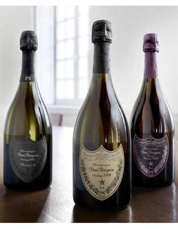 Dom Pérignon 6 Glasses & Trilogy 3 Giftbox P2 2002, Rosé 2006, 2008 - 3 x 75 CL CHF977,00 Dom Pérignon