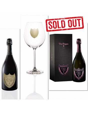Dom Pérignon Package 2 Glasses + 1 Vintage Brut 2008 + 1 Giftbox Rosé 2006 - 2 x 75 CL CHF558,00 Dom Pérignon