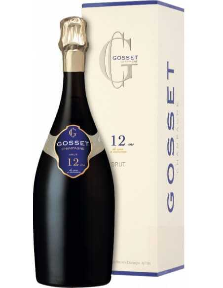 GOSSET BRUT 12 ANS DE CAVE A MINIMA Limited Edition CHF129,00 Others champagne