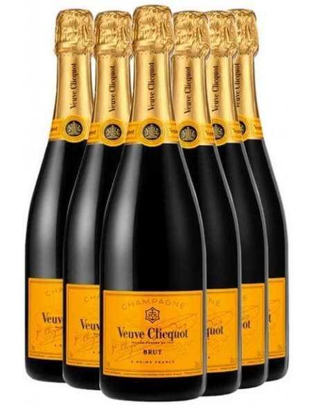 Veuve Clicquot Yellow Label brut 5+1 free - 6 x 75 CL CHF287,40 product_reduction_percent Veuve Clicquot
