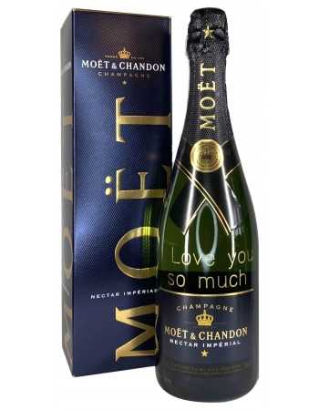 Moët & Chandon Nectar Impérial Gold Printing - 75 cl CHF 70,90 PERSONALISATION