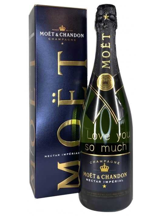 Moët & Chandon Nectar Impérial Gold Printing - 75 cl CHF73,90 PERSONALISATION