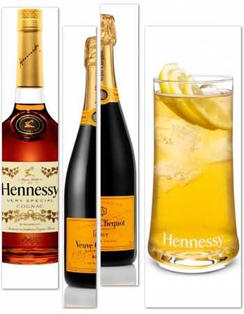 Misterchampagne.ch Package Cocktail Cognac & Champagne & 6 Long Drink Glasses CHF 225,70 product_reduction_percent Spiritueux...