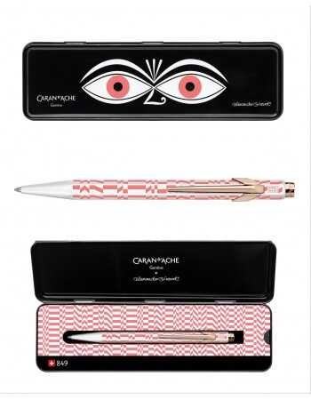 Misterchampagne.ch Pen Caran d'ache Limited Edition by Vitra - Pink decoration CHF49,00 Home