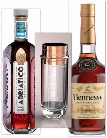 Misterchampagne.ch Package Cocktail Cognac & Amaretto & Measurement Tool Free - 2 x 70 Cl CHF89,90 Luxury Spirits