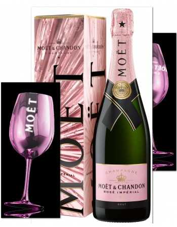 Moët & Chandon 2 Pink Ceramic Glasses & 1 Rosé Impérial Festive Giftbox - 75 CL CHF 109,90 product_reduction_percent Moët & C...