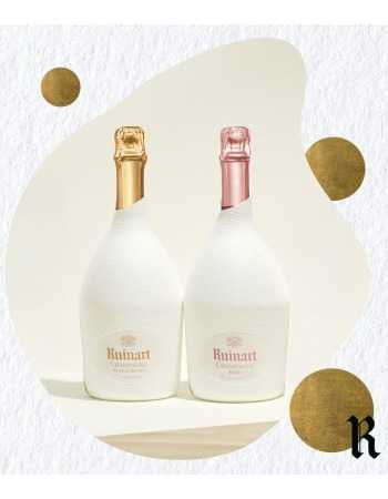 Ruinart Duo étui seconde peau Blanc de blancs & Rosé - 2 x 75 cl CHF 170,00 product_reduction_percent Ruinart