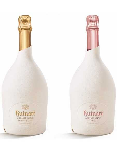 "Ruinart SET : Duo Second Skin ""Blanc de blancs & Rosé"" - 2 x 75 cl CHF158,00 product_reduction_percent Ruinart"