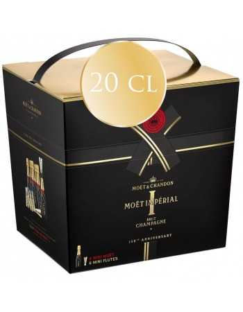 Moët & Chandon Giftbox 6 Mini Flûtes & 6 Mini Moët - 20 CL CHF 115,00  Moët & Chandon