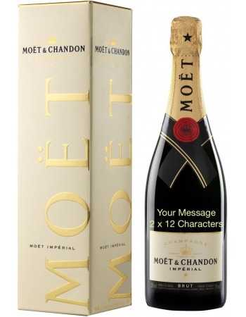 Moët & Chandon Impérial Brut Gold Printing - 75 CL CHF62,50 PERSONALISATION