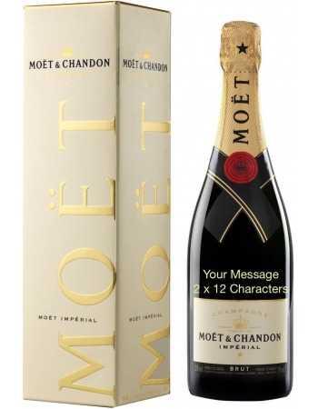 Moët & Chandon Impérial Brut Impression dorée - 75 CL CHF62,50  PERSONNALISATION