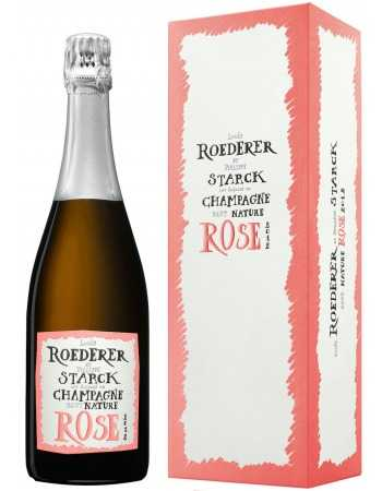 "Louis Roederer Vintage 2012 Nature Rosé ""PHILIPPE STARCK"" CHF 89,00 Louis Roederer"
