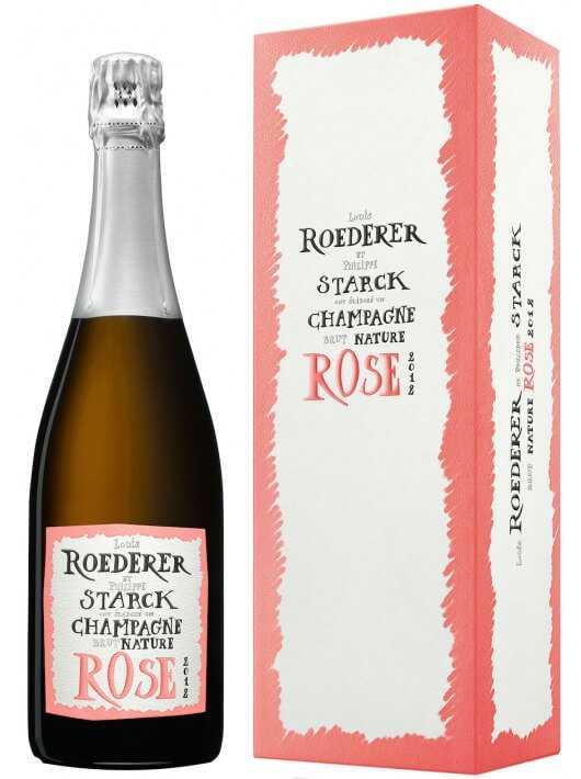 "Louis Roederer Vintage 2012 Nature Rosé ""PHILIPPE STARCK"" CHF89,00 Louis Roederer"