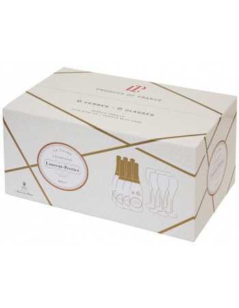 Laurent-Perrier Package 6 Cuvée brut & 6 Glasses - 6 x 75 cl CHF269,00 Laurent-Perrier
