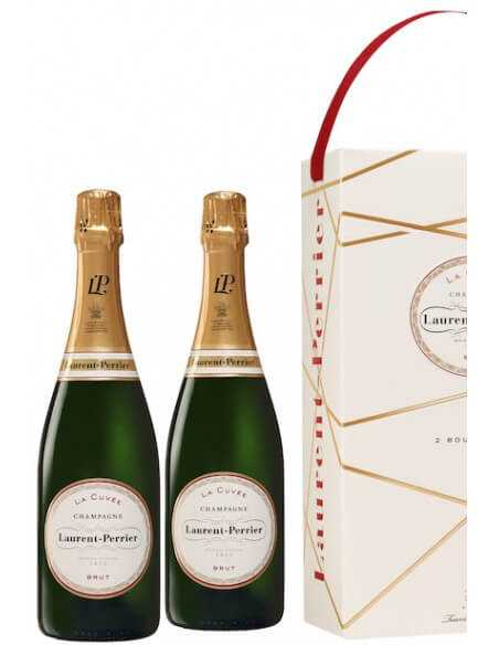 Laurent-Perrier La Cuvée Duo Pack, Limited Edition Giftbox - 2 x 75 cl CHF 83,00 Laurent-Perrier