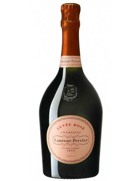 "Laurent-Perrier Set : 6 Prestige glasses + 1 ice bucket ""Light"" + 6 Cuvée Rosé - 6 x 75 CL CHF673,00 Laurent-Perrier"