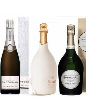 Champagne Set White Paradise Blanc de Blancs - 3 x 75 cl CHF243,00 Ruinart