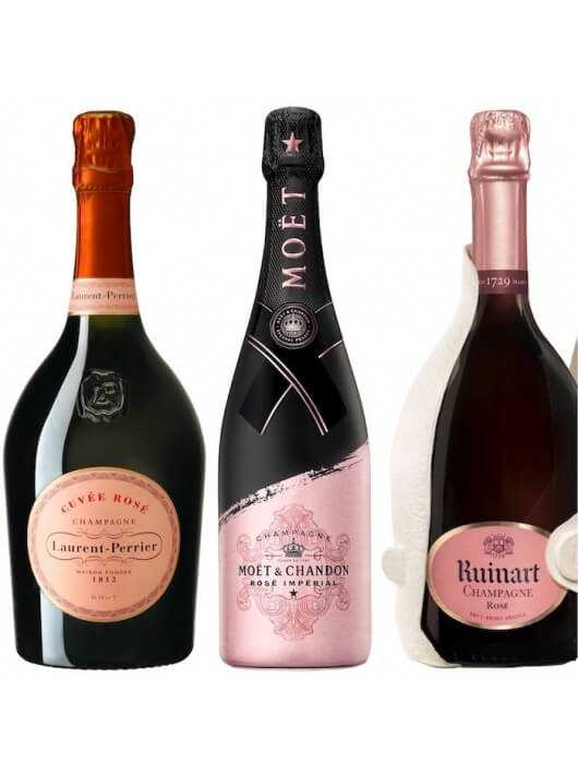Champagne Set Pink Paradise - 3 x 75 CL CHF 213,90 product_reduction_percent Promotions