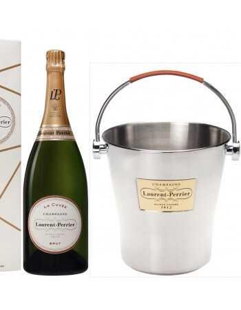 Laurent-Perrier Package Ice Bucket Magnum & 3 Magnum La Cuvée Brut - 3 x 150 cl CHF446,00 Laurent-Perrier