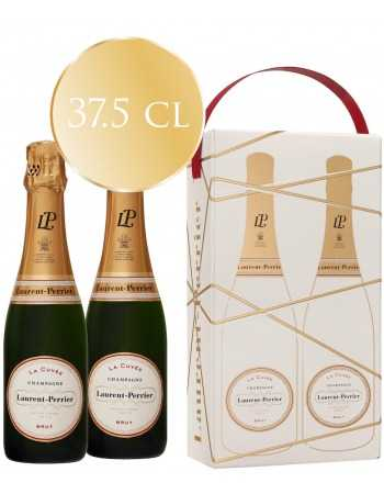 Laurent-Perrier La Cuvée Duo Pack, Limited Edition Giftbox - 2 x 37.5 cl CHF 55,00  Laurent-Perrier