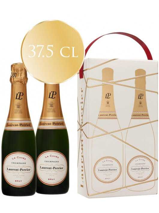 Laurent-Perrier La Cuvée Duo Pack, Limited Edition Giftbox - 2 x 37.5 cl CHF49,00 Laurent-Perrier