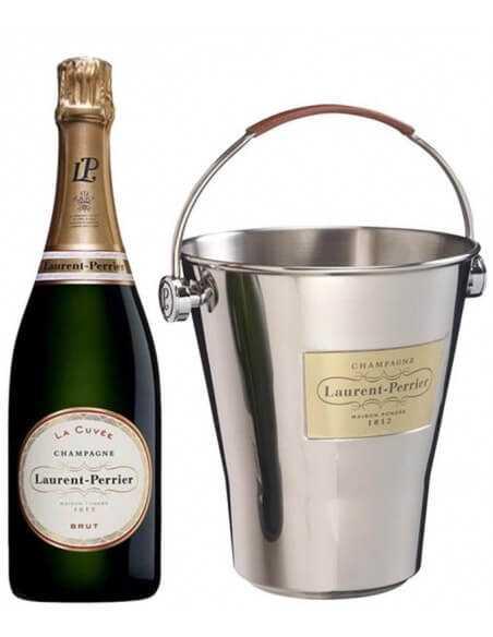 Laurent-Perrier Package 6 Cuvée brut & 1 Ice Bucket - 6 x 75 cl CHF279,00 Laurent-Perrier